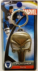 Picture of Punisher Skull Symbol Pewter Keychain
