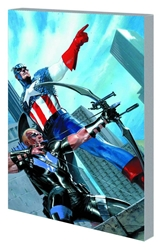 Picture of Captain America and Hawkeye SC