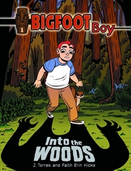 Picture of Bigfoot Boy GN VOL 01 Into the Woods
