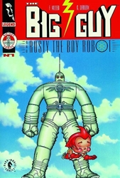 Picture of Big Guy and Rusty the Boy Robot SC