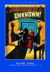 Picture of ACG Collected Works Adventures into the Unknown Vol 03 HC