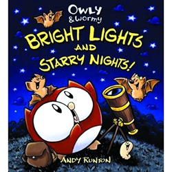Picture of Owly & Wormy HC Bright Lights & Starry Nights