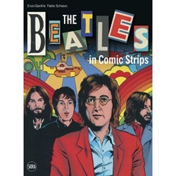 Picture of Beatles in Comic Strips HC