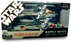Picture of Star Wars 30th Anniversary Battle Pack Treachery on Saleucami