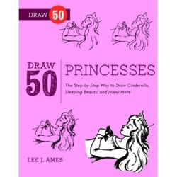 Picture of Draw 50 Princesses