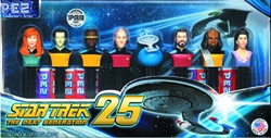 Picture of Star Trek the Next Generation 25th Anniversary PEZ Collector's Series