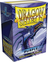 Picture of Dragon Shield Purple Card Sleeve 100-Count Pack