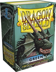 Picture of Dragon Shield Green Card Sleeve 100-Count Pack