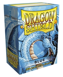 Picture of Dragon Shield Blue Card Sleeve 100-Count Pack
