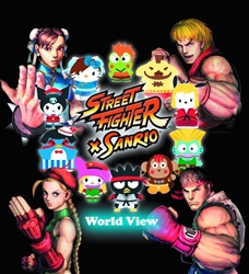 Picture of Street Fighter X Sanrio World View HC