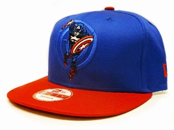 Picture of Captain America Action Arch 9Fifty Snapback Cap M/L