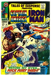 Picture of Tales of Suspense #92
