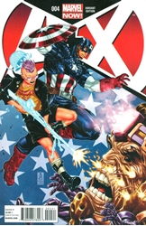 Picture of A+X #4 Brooks Cover