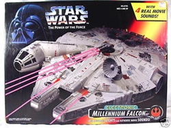 Picture of Star Wars Power of the Force Electronic Millennium Falcon