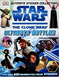Picture of Star Wars The Clone Wars Ultimate Battles Ultimate Sticker Collection