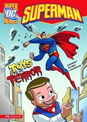 Picture of DC Super Heroes Superman Young Reader SC Toys of Terror