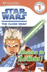 Picture of DK Readers Level 1 Star Wars Clone Wars Ahsoka in Action
