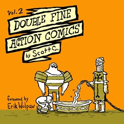 Picture of Double Fine Action Comics Vol 02 SC