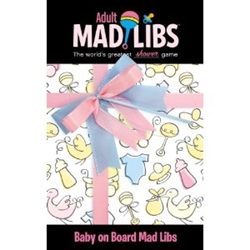 Picture of Baby on Board Adult Mad Libs