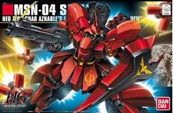Picture of Gundam Char's Counterattack Sazabi HG Model Kit
