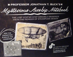 Picture of Professor Jonathan T. Buck's Mysterious Airship Notebook