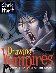Picture of Drawing Vampires Gothic Creatures of the Night