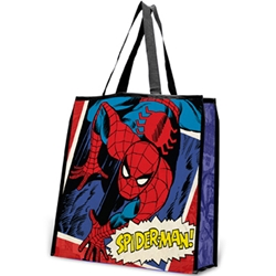 Picture of Spider-Man Large Recycled Shopping Tote