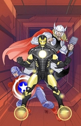 Picture of Captain America (2013) #6 Many Armors of Iron Man Cover