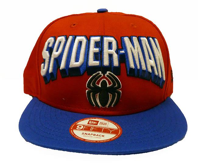 ed85eae06e7a8 Bedrock City Comic Company. Spider-Man Hero Block 9Fifty Snapback ...