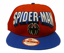 Picture of Spider-Man Hero Block 9Fifty Snapback Cap M/L