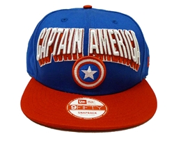 Picture of Captain America Hero Block 9Fifty Snapback Cap M/L