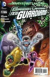 Picture of Green Lantern New Guardians #20