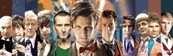 Picture of Dr. Who Doctors Collage Poster