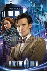 Picture of Dr. Who and Amy Poster