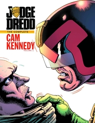 Picture of Judge Dredd Cam Kennedy Collection Vol 01 HC