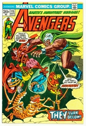 Picture of Avengers #115