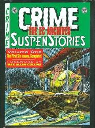 Picture of EC Archives Crime Suspenstories Vol 01 HC