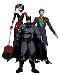 Picture of Batman Hush Joker Harley Stealth Batman Action Figure 3-Pack