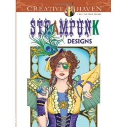 Picture of Steampunk Designs Coloring Book