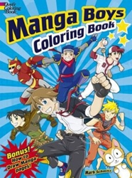Picture of Manga Boys Coloring Book SC