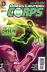 Picture of Green Lantern Corps (2011) #23