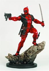 Picture of Deadpool Action Statue w/ Broken Sword on back