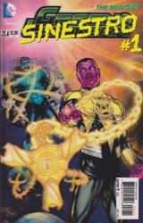Picture of Green Lantern (2011) #23.4 Sinestro