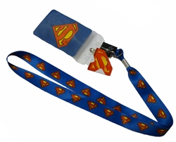 Picture of Superman Symbol Lanyard