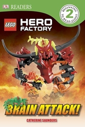 Picture of DK Readers Level 2 Lego Hero Factory Brain Attack