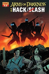Picture of Army of Darkness vs Hack/Slash #3 Seeley Cover