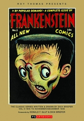 Picture of Roy Thomas Presents Briefer Frankenstein HC 1945-1946