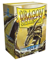 Picture of Dragon Shield Gold Card Sleeve 100-Count Pack