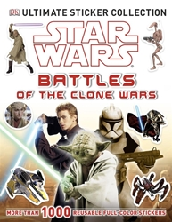 Picture of Star Wars Battles of the Clone Wars Ultimate Sticker Collection