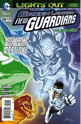 Picture of Green Lantern New Guardians #24